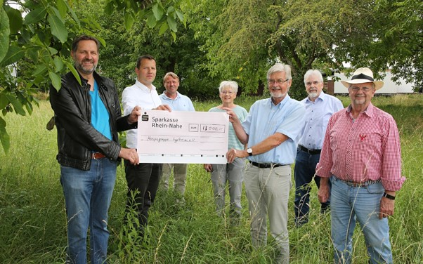 Lionsclub spendet 13.000 EUR für den Neubau des Ingelheimer Hospizes
