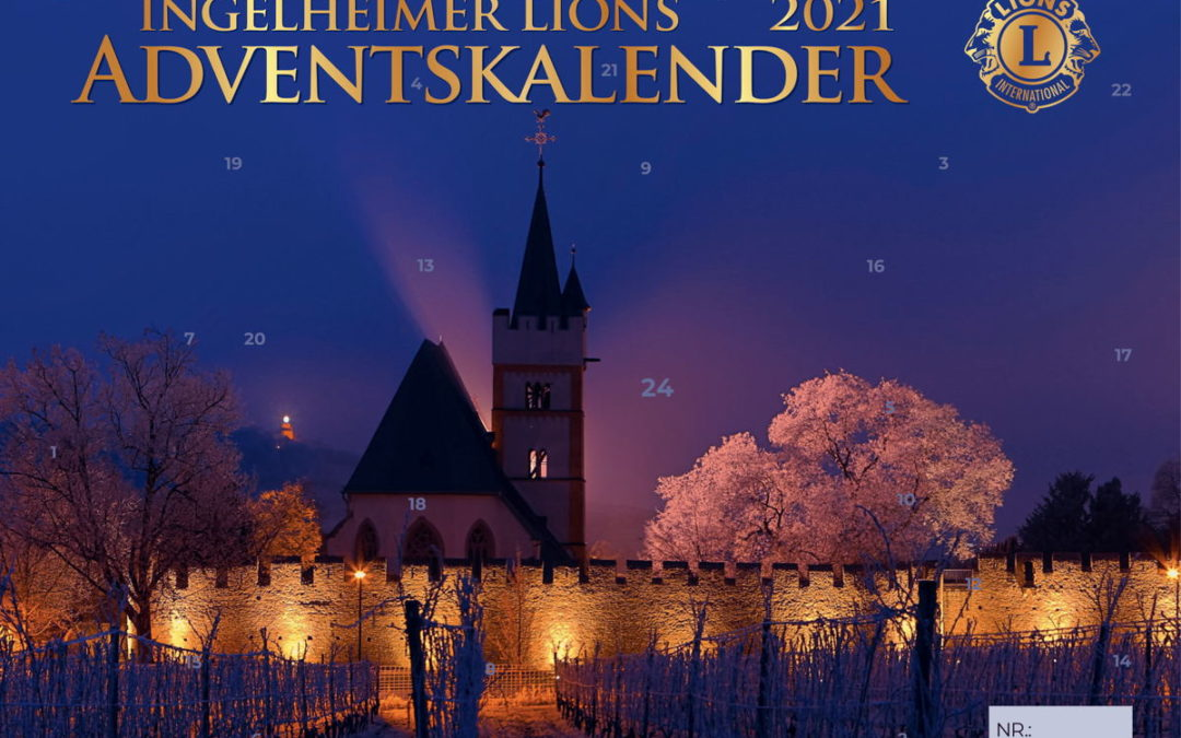 Lions-Adventskalender 2021: Vorverkauf startet!